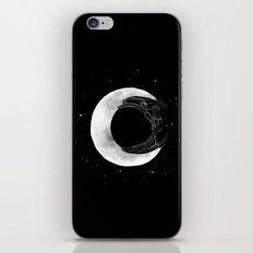 crescent moon iPhone & iPod Skin