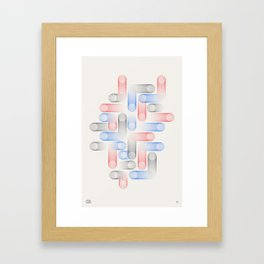 Relatives 13 Framed Art Print