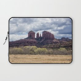 Cathedral Rock from a Field Laptop Sleeve