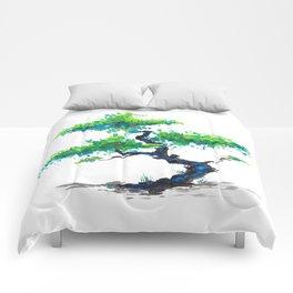 Blue Bonsai Comforters