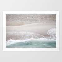 Wave on Wave Art Print