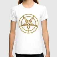 baphomet T-shirts featuring Courting Baphomet by Framed In Blood Art