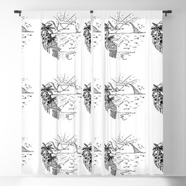 My Dream House Blackout Curtain