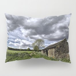 Green Stones Countryside Farm House Pillow Sham