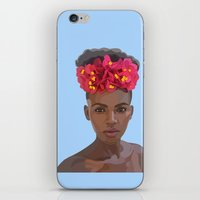 goddess iPhone & iPod Skins featuring Goddess by Grace Teaney Art