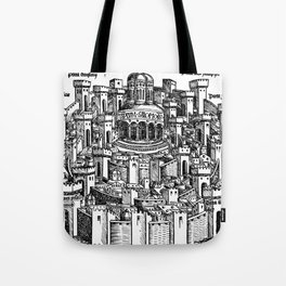 Jerusalem 1493 Tote Bag