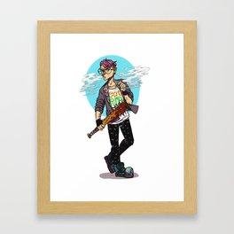 Kid Omega Framed Art Print