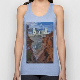 Acadia National Park at Maine Unisex Tank Top