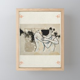 Embrace Framed Mini Art Print