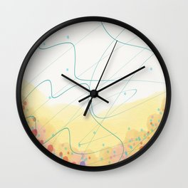 Waggle Dance Wall Clock