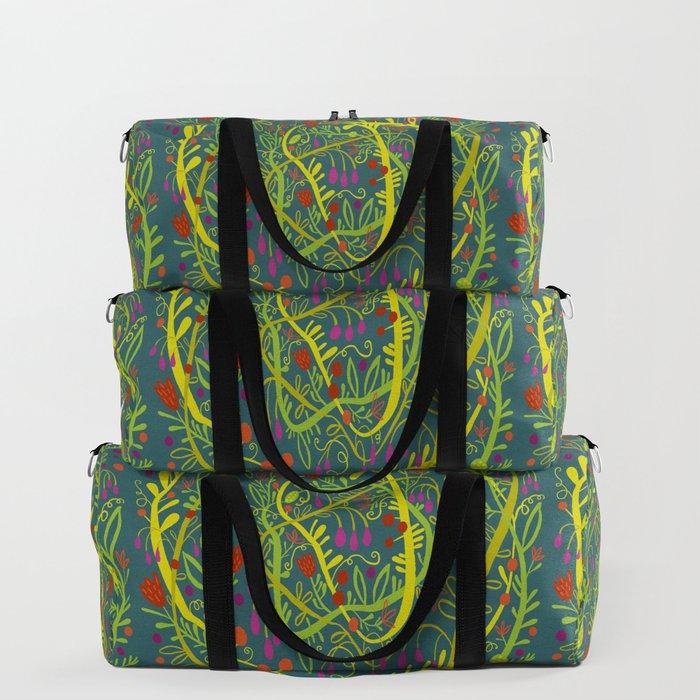 Dark Garden Gone Wild Duffle Bag