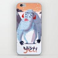 :::Happy Yetis::: iPhone & iPod Skin