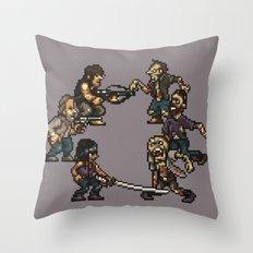 The Slugging Dead Throw Pillow