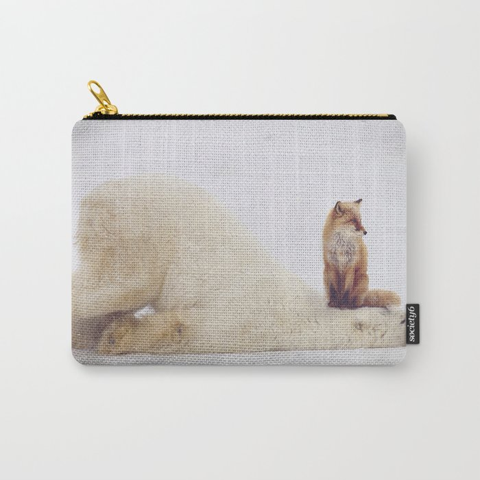Foxy takedown Carry-All Pouch