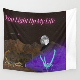 You Light Up My Life Wall Tapestry