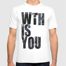 WTHISYOU MEDIUM Mens Fitted Tee White