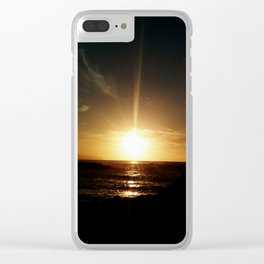 Sunset at Tenerife Clear iPhone Case