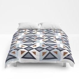 Repeat Blue Comforters