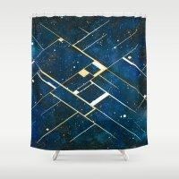 constellation Shower Curtains featuring :: Constellation ::  by Antonio Holguin