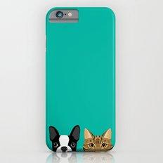 Boston Terrier & Tabby Slim Case iPhone 6s