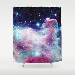 Unicorn Horsehead Nebula Shower Curtain
