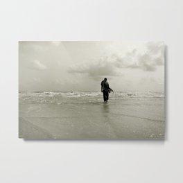 Stranger in the sea Metal Print