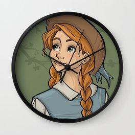 "Anne With an ""E"" Wall Clock"