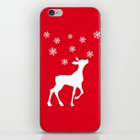 fawn iPhone & iPod Skins featuring fawn by Li-Bro