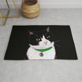 Tuxedo Cat Rug