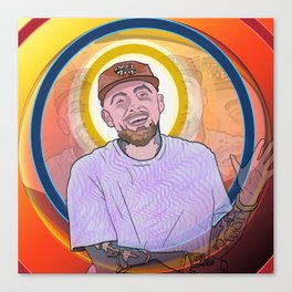 """Mac Miller - """"Music, it's a beautiful thing. It's a beautiful thing."""" Canvas Print"""