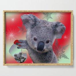 Christmas Koala Serving Tray