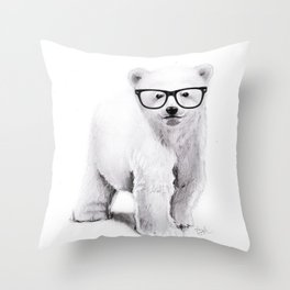 Polar Disorder Throw Pillow