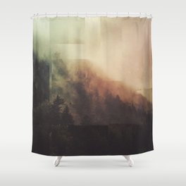 Fractions A35 Shower Curtain