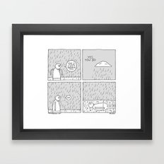 Moonbeard - Cloud Framed Art Print