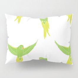 Wild Parrots of East Austin Pillow Sham