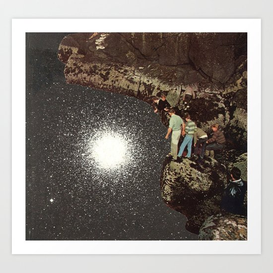 star pool Art Print