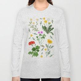 Spring Wildflowers Long Sleeve T-shirt