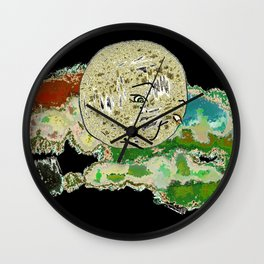 Worried Wall Clock