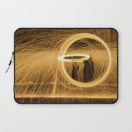 Circle of Fire Laptop Sleeve