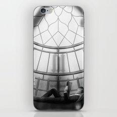 Behind the clockface of Big Ben iPhone & iPod Skin