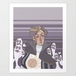 Ghost Mafia Princess Art Print