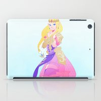 hyrule iPad Cases featuring Hyrule Warriors Zelda by causticAntilogy