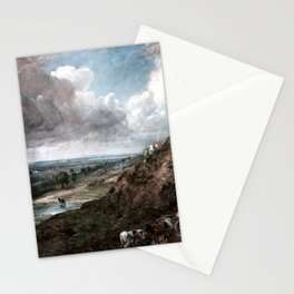 John Constable Branch Hill Pond, Hampstead Stationery Cards