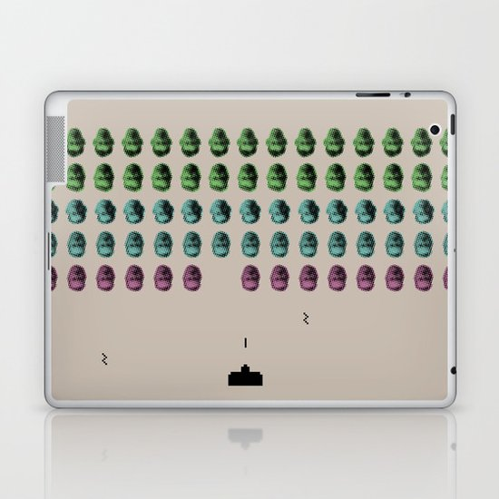 Faceinvaders Laptop & iPad Skin