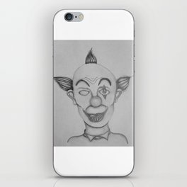 The Creepy Clown iPhone Skin