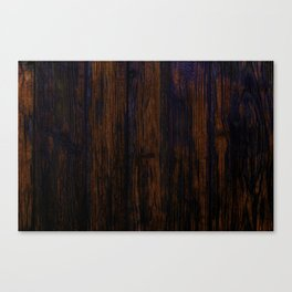 red wood texture background Canvas Print