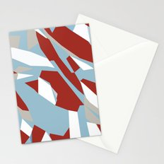Hastings Zoom Red Stationery Cards