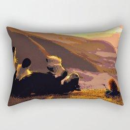 Brave- Merida's Sunset Rectangular Pillow