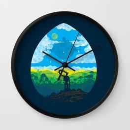 Mystical City Wall Clock