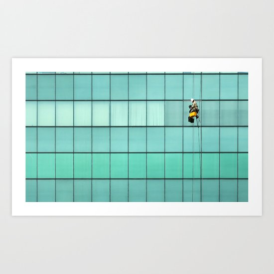 Ropes and Ladders Art Print
